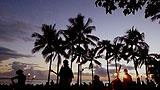 クヒオビーチ フラショー